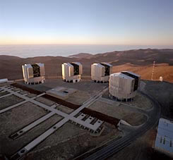 ESO, The VLT Array on the Paranal Mountain